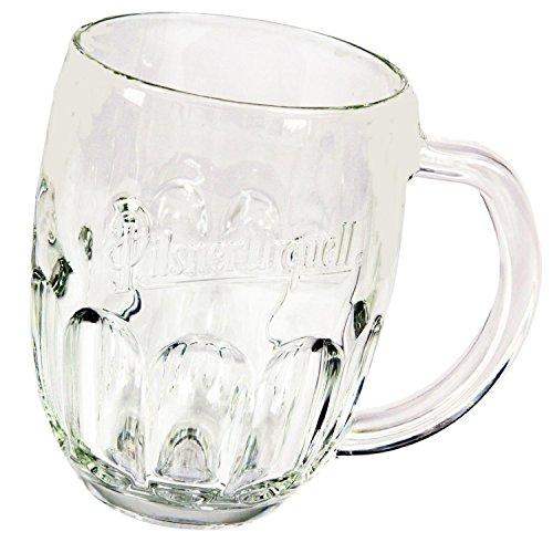 (Pilsner Urquell Beer Mugs Set Of 2 Pieces Half Pint)
