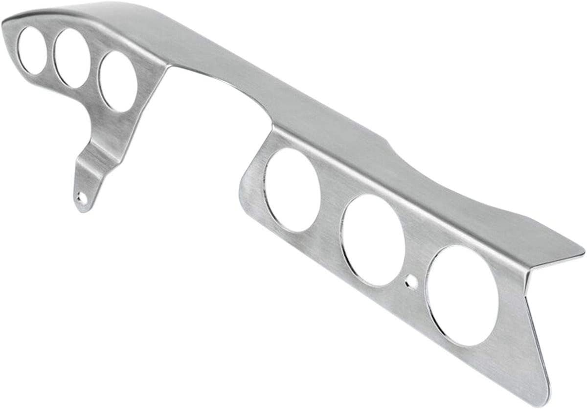BritishCustoms 16-18 Triumph BONNET120 Brushed Stainless Steel Chain Guard