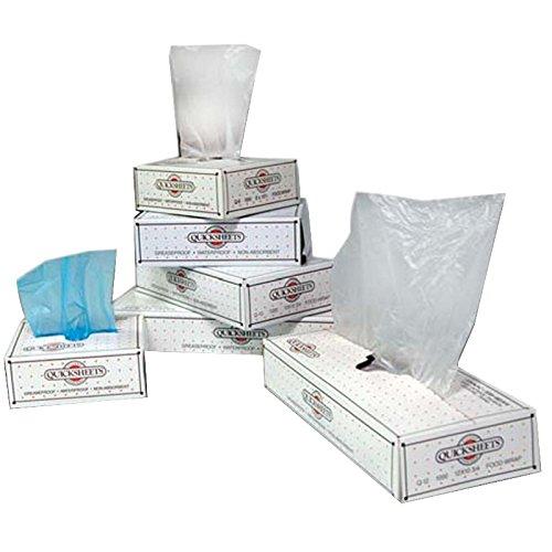 Pak-Sher QuickSheet Q-15 HDPE Interfolded Bakery Deli Tissue Natural, 15'' Length x 10.75'' Width   1000/Case by Pak Sher