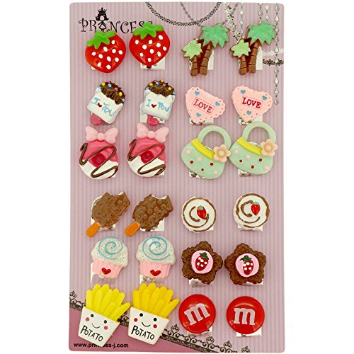 Big-Size-Generic-Cute-Lovely-Cute-Design-Fashion-Clip-on-Earrings-Pack-of-12-Pairs