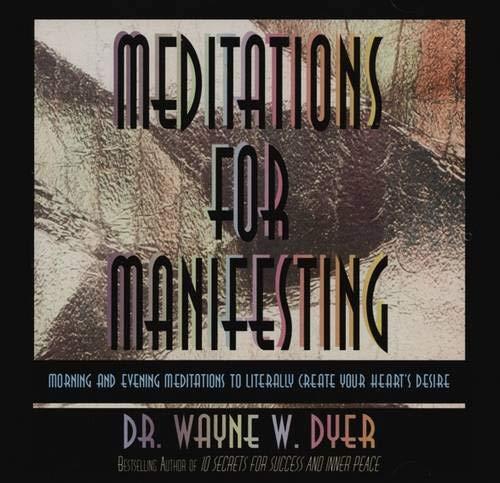 MEDITATIONS FOR MANIFESTING 1 CD