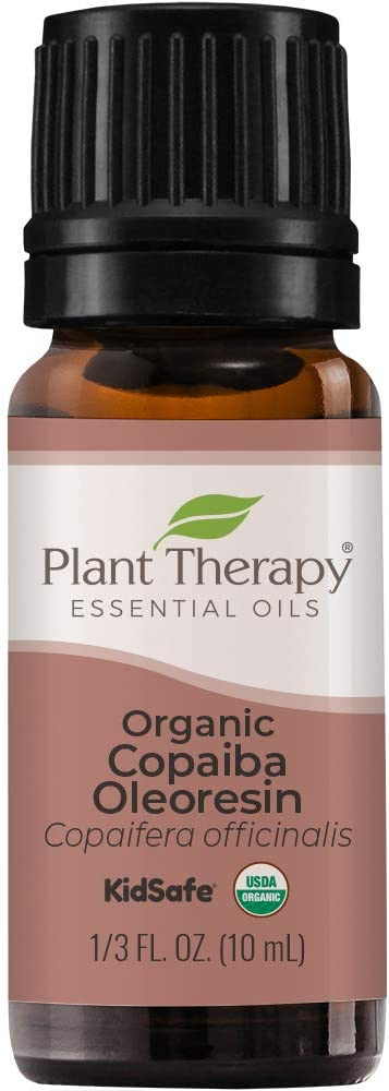 Plant Therapy Copaiba Oleoresin Organic Essential Oil 100% Pure, Undiluted, Natural Aromatherapy, Therapeutic Grade 10 mL (1/3 oz) : Beauty