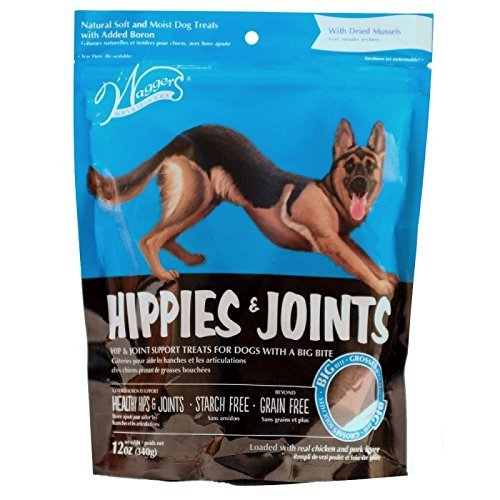 Waggers 552013 Hippies & Joints Dog Treats Dry Pet Food, One Size