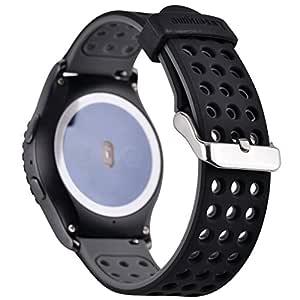 Greatfine 20MM Reemplazo Correa de Reloj Silicona Pulsera para ...