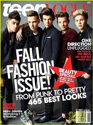Teen Vogue Magazine September, 2013 One Direction Cover: Amazon.es: Desconocido: Libros