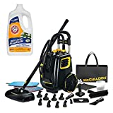 Best Canister Steam Cleaners - McCulloch Deluxe Canister Multi-Floor Steam Cleaner System w/Carpet Review