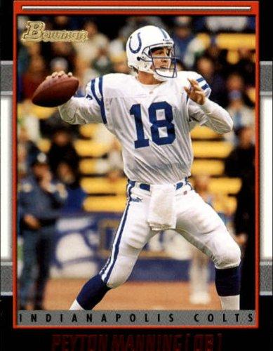 2001 Bowman Football Card #67 Peyton Manning Near Mint/Mint (2001 Bowman Football)