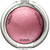 Palladio Baked Blush, Berry, 2.5g, Highly Pigmented and Shimmery Powder Blush, Apply Dry for Natural Glow or Wet for Dramatic