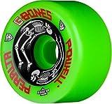 Powell-Peralta G-Bones Skateboard Wheels 64mm 97A (Green)