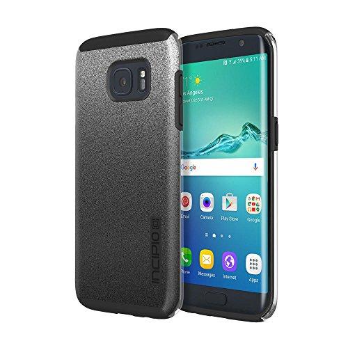 Samsung Galaxy S7 Edge case, Incipio DualPro Glitter, [Design Series] Shock-Absorbing Impact-Reistant Dual-Layer Cover - Black