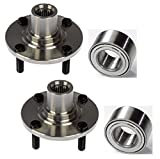 PAIR Front Left And Right Wheel Hub And Bearing fit 2000 2001 2002 2003 2004 2005 MITSUBISHI LANCER (ES model only)