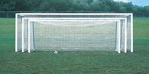 Bison 24′ x 8′ ShootOut Round Post Portable Soccer Goals – DiZiSports Store