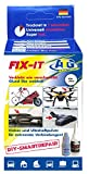 three bond plastic repair kit - ATG FIX-IT - The Liquid Weld - Industrial Adhesive for Home Use, Heat Resistant and Waterproof - DIY Smart Repair - Industrial Adhesive Kit with Extensive Accessories. The Industrial Adhesive, Supergl