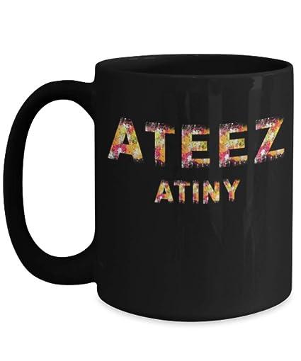 6136d1c2e7a5d Ateez Mug KQ Entertainment Ateez Fan Merch Tea Mojo Coffee Mug Gift For  Atiny Ateez Kpop