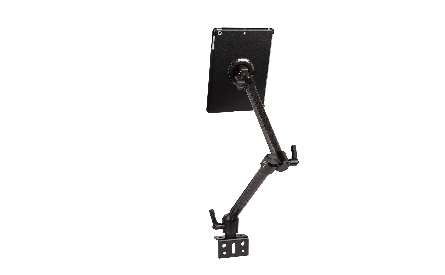 The Joy Factory MagConnect Carbon Fiber Wheelchair Accessory Rail Mount for iPad Air and iPad 9.7 2017 (MMA214)