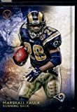 2015 Topps Valor #160 Marshall Faulk Football Card In Protective Display Case
