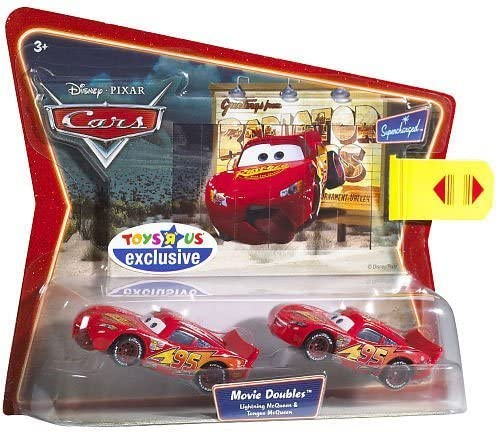 Mattel Disney Pixar Cars 2 Pack Mcqueen & Tongue Mcqueen by ...