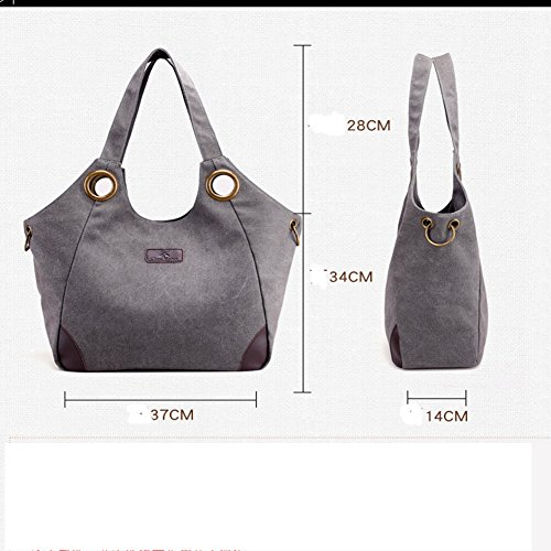 bag bag hobo bag satchel organizer canvas tote shoulder Coffee crossbody handbag bag casual Owarder xg8F4qq