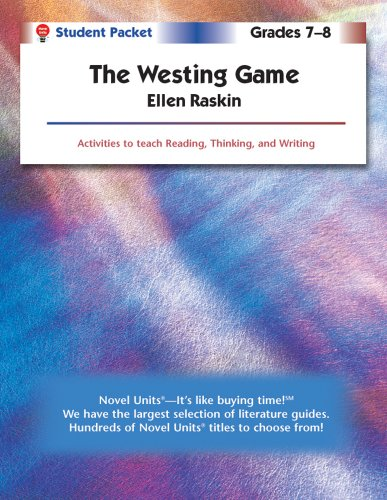 The Westing Game - Student Packet by Novel Units, Inc.