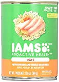 Iams Proactive Health Dog Food, Classic Pate Ground Savory Dinner With Chicken & Rice, 13-Ounce Cans (Pack Of 12)