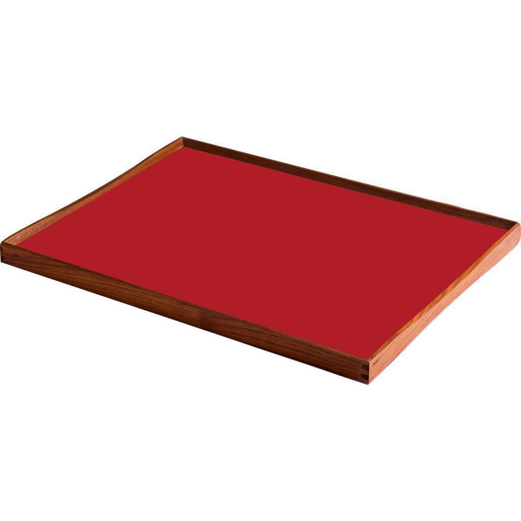 Architectmade Turning Tray | Black Desert/Kimono Red - Small (23x45 cm)