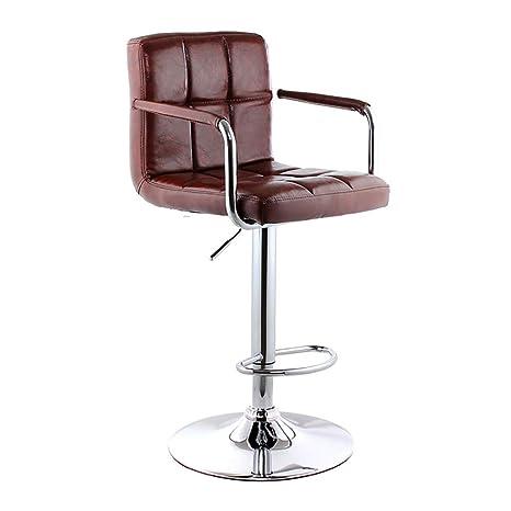 Excellent Amazon Com Yubinbar Chair Swivel Bar Stoolskitchen Frankydiablos Diy Chair Ideas Frankydiabloscom