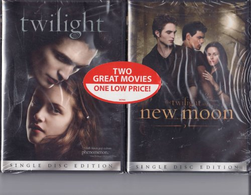 Twilight / The Twilight Saga New Moon LIMITED EDITION 2 DVD Set