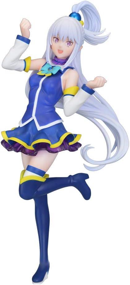 Sega Re Zero Starting Life in Another World: Emilia Premium Figure (Aqua Version)