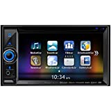 Clarion NX605 2-Din DVD Multimedia Station with Built-In Navigation/Smart Access and 6.2-Inch Touch Panel Control (Discontinued by Manufacturer)