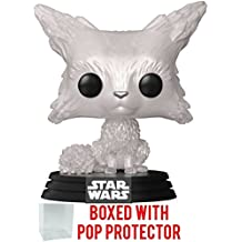 Funko Pop! Star Wars: The Last Jedi - Vulptex (Crystalline Fox) Vinyl Bobble-Head Figure (Bundled with Pop Box Protector Case)