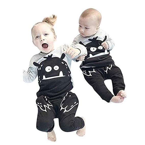 Bekleidung 2019 Jungen Mädchen Kinder Kleidung Langarm T