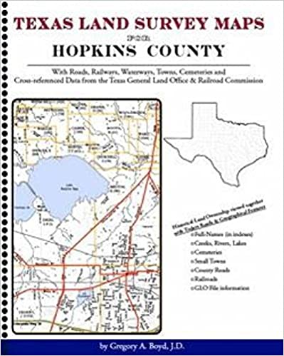 Texas Land Survey Maps for Hopkins County