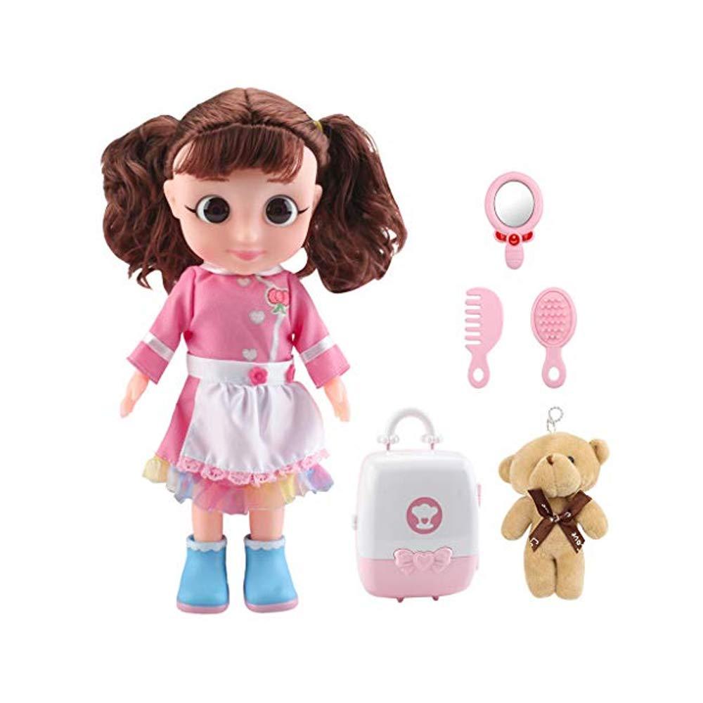 Molyveva Girl Simulition Toys Cooking Kitchen Kids Mini Playset Dollhouse Children Toy