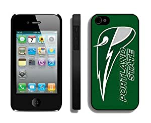 Designer Apple Iphone 4 4s Case Portland State Vikings 1 Cell Phone Protector Covers
