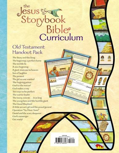 Jesus Storybook Bible Curriculum Kit Handouts, Old Testament ...