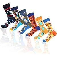 MissShorthair Mens Dress Socks