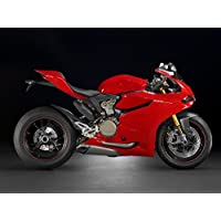 Red ABS Fairing Bodywork Cowl kit Injection For 2012-2014 Ducati 1199 Panigale