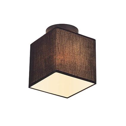 Zhang Ying ZY Tela Lámpara de Techo Diseño Angular Lámpara ...
