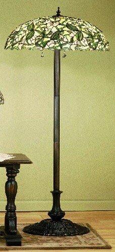 Meyda Tiffany Sweet Pea Floor Lamp, MT-48623