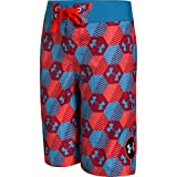 Under Armour Boy's Barrel Stretch Board Shorts 27 RED