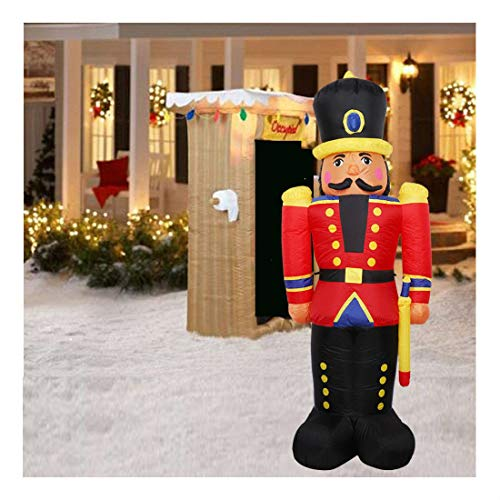 Christmas Inflatable Soldier Toy Airblown Garden Holiday Doorway Fireplace Decor