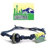 Earth Bands Seattle Washington Bracelet Blue