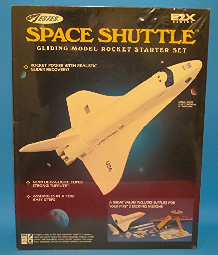 (Vintage Factory Sealed Estes E2X Series #1467 Rocket Starter Set Space Shuttle)