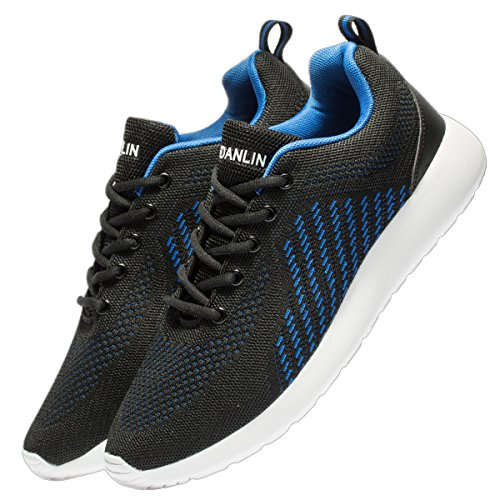 Men's Breathable Knit Running Shoes Lightweight Athletic Shoes Outdoor Sneakers