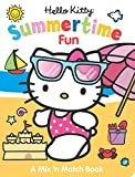img - for Hello Kitty Summertime Fun: A Mix n' Match Book book / textbook / text book
