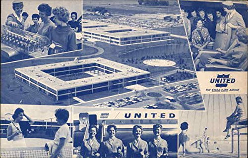 United's Education & Training Center Arlington Heights, Illinois Original Vintage Postcard (City Of Arlington Heights Il)