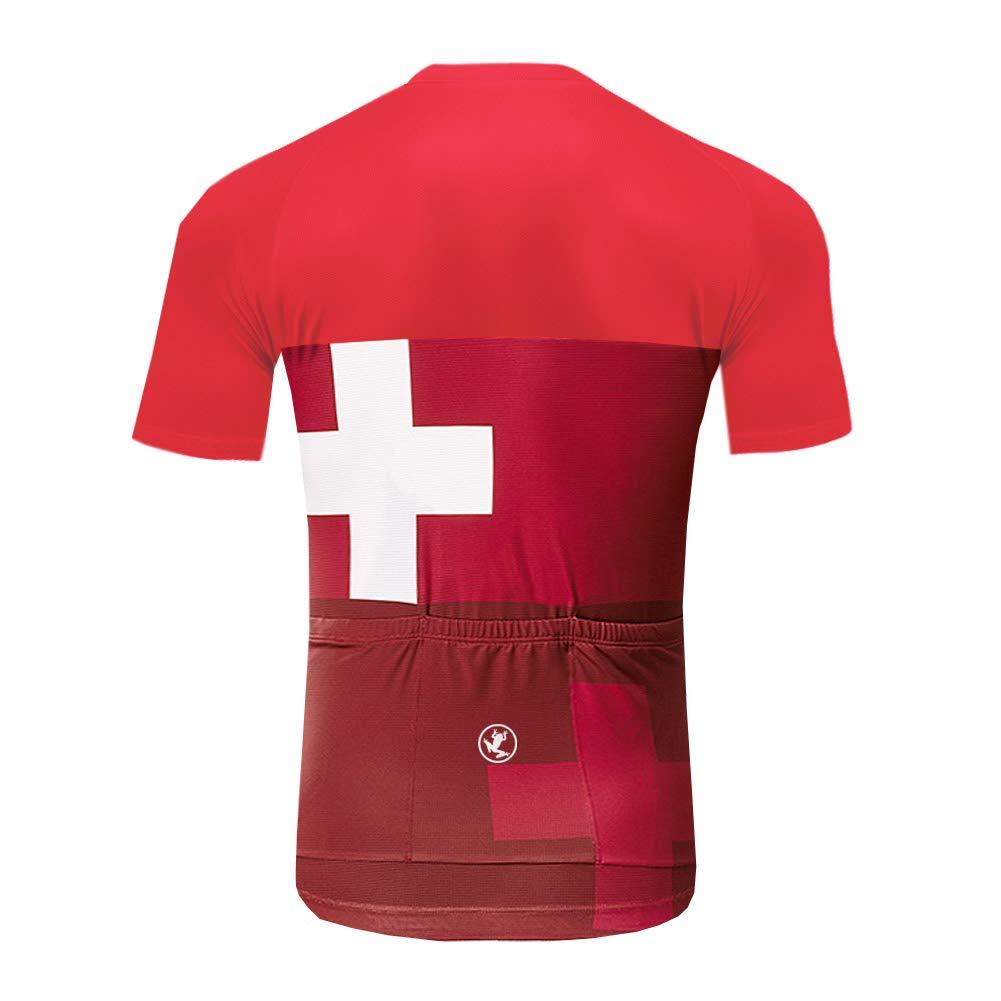 Uglyfrog Ciclismo Maillot Hombres Jersey + Pantalones Cortos ...