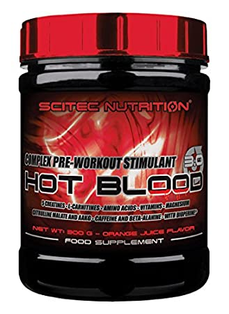 Scitec Nutrition Hot Blood 2.0 Blood Orange 300g