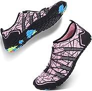 JIASUQI Water Athletics Shoes Mens Womens Sports Aqua Barefoot Quick Dry for Beach Swimming Boating Fishing Di