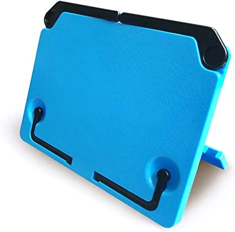 Soporte de mesa plegable para libros de música de escritorio, con hoja de colores: Amazon.es: Instrumentos musicales